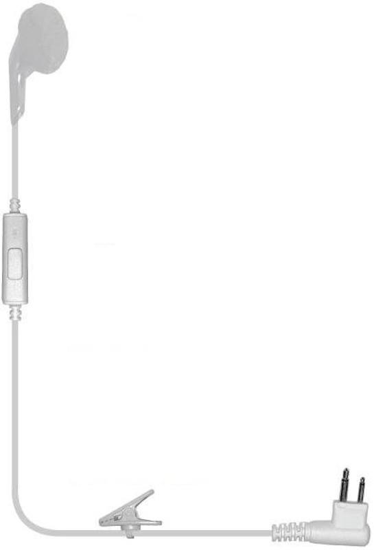 Earphone Connection iBud PTT Single Earbud Surveillance Kit IBUD
