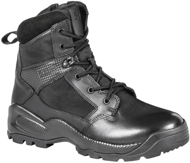 5.11 Tactical Mens ATAC 2.0 6 Side Zip Black Boot 12394 12394
