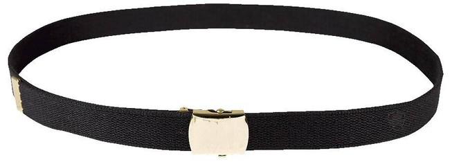 5ive Star Gear Web Belt - Gold Close Face Buckle GOLDWEBBELT