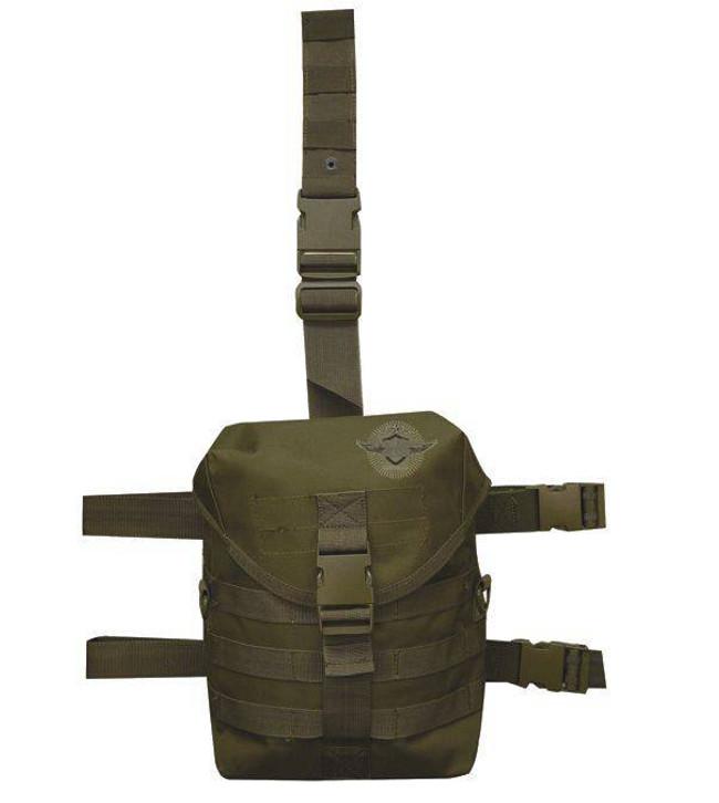 5ive Star Gear DLG-5S Drop Leg Gas Mask Carrier LEGGASMASK