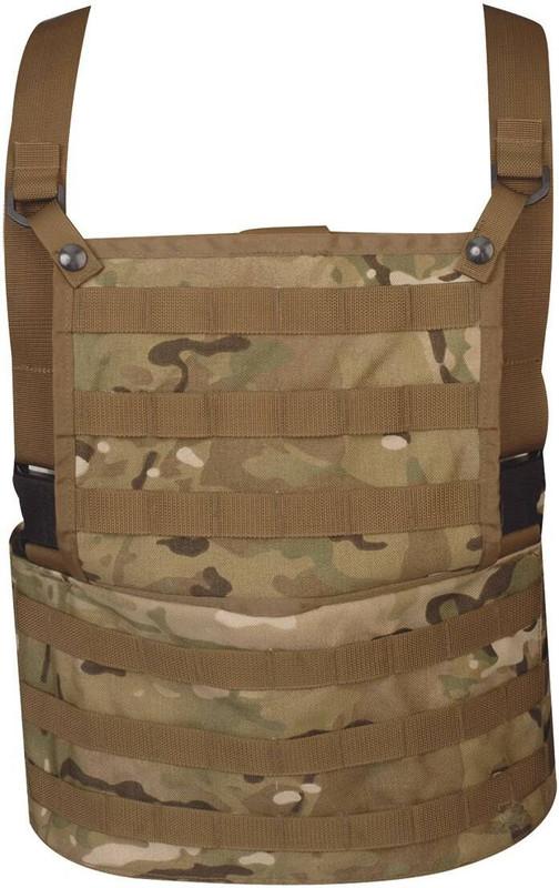 5ive Star Gear M.O.L.L.E. Compatible Rack Vest Multicam