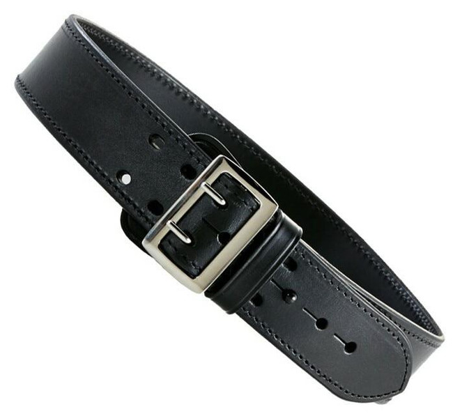 Aker Sam Browne Duty Belt plain chrome