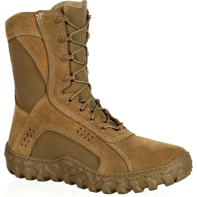 Rocky S2V Tactical Military Boot Coyote Brown RKC050