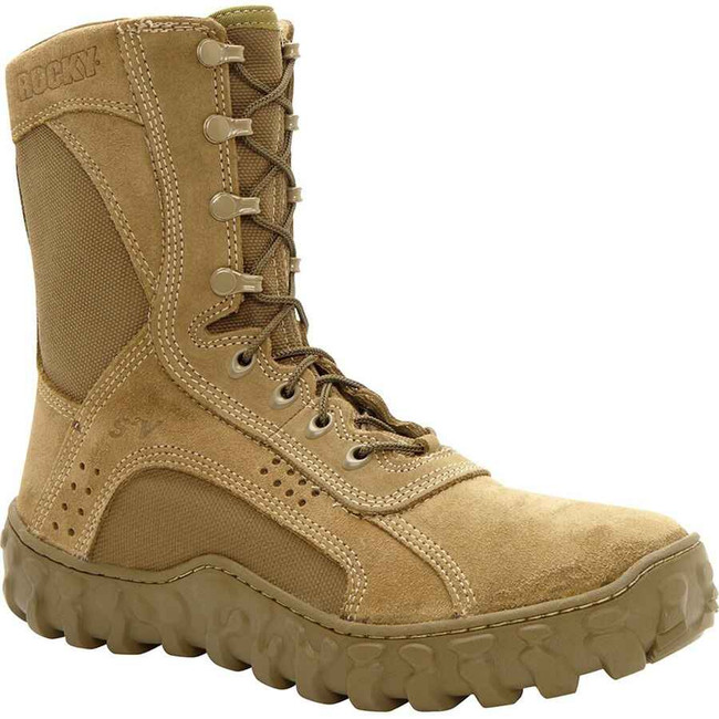 Rocky S2V Tactical Military Coyote Brown Boot 0104-RO