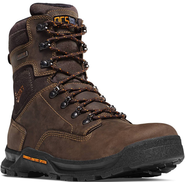 Danner Mens Crafter 8 Brown NMT Work Boot 12439 12439