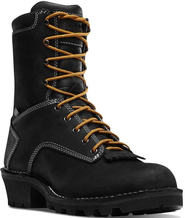 Danner Logger 8 Black Boot 15431
