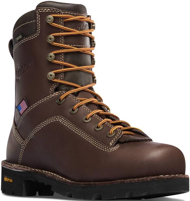Danner Quarry USA Brown 8 Boot 17305