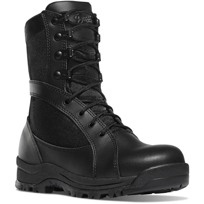 Danner Womens Prowess 8 Side-Zip Black Hot Boot 22310