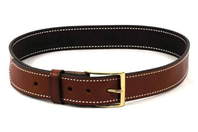DeSantis Gunhide 1 1/2 Plain Lined Leather Belt B12