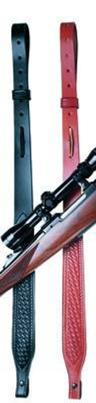 DeSantis Gunhide Basketweave Suede Lined Rifle Sling S12-DE