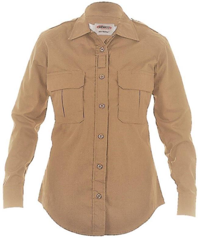 Elbeco ADU Ripstop Womens L/S Shirt ADU-LC-LS