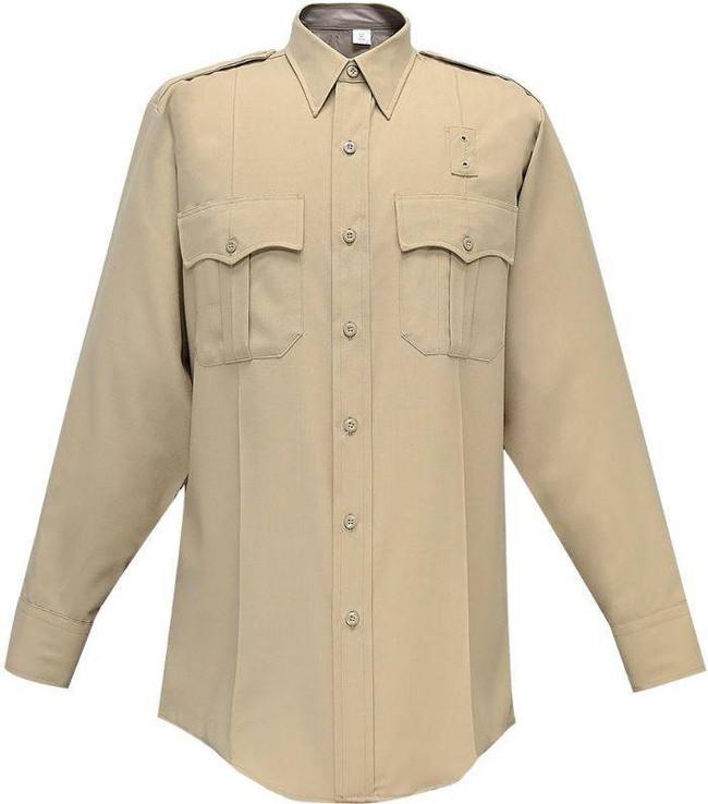 Flying Cross Justice 75percent Poly/25percent Wool Womens Long Sleeve Shirt 105W84
