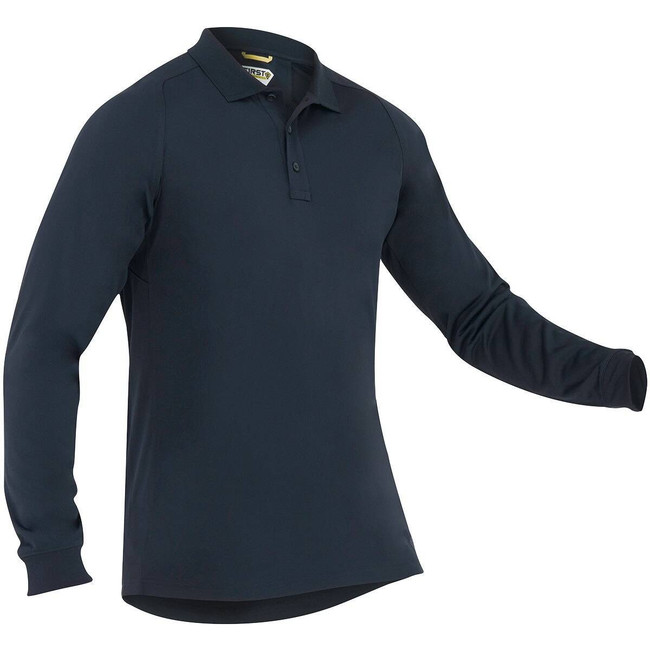First Tactical Mens Performance Long Sleeve Polo 111503