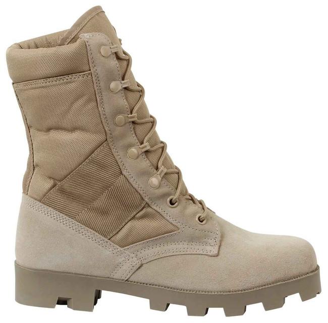 Rothco GI Style Speedlace Desert Tan Jungle Boot 5057