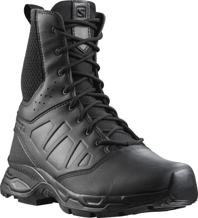 Salomon Men's Black Urban Jungle Ultra Side-Zip Tactical Boot