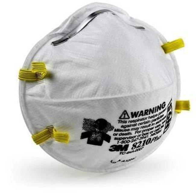 3M 8210 PlusPro N95 Particulate Respirator Mask - 10 Pack 8210PLUSPRO 051131917583