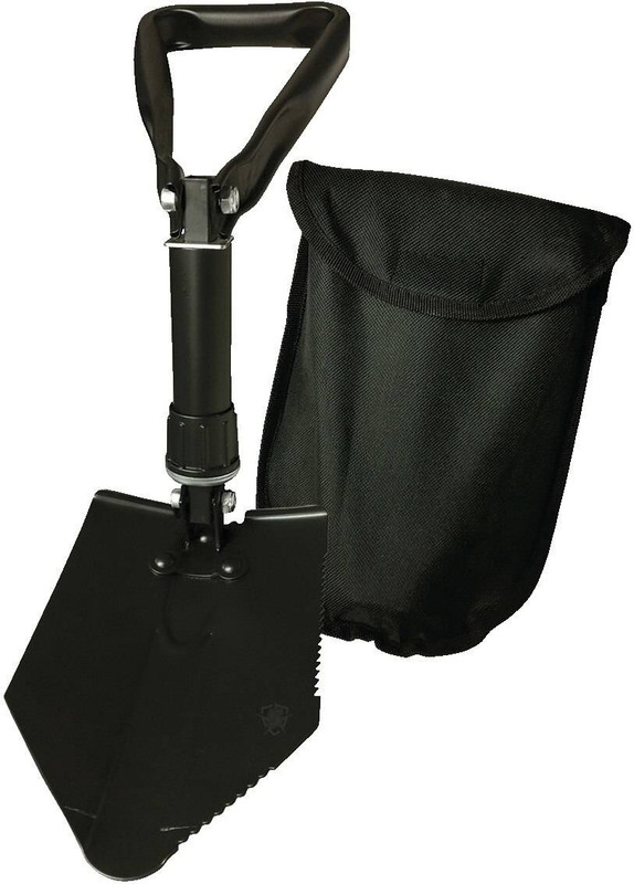 5ive Star Gear Tri-Fold Campers Shovel with Cover 5122000 690104423852