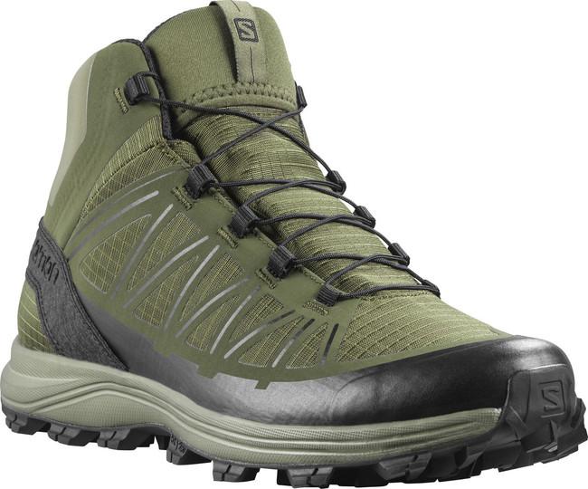 Salomon Men's Olive Night Speed Assault Tactical Boot