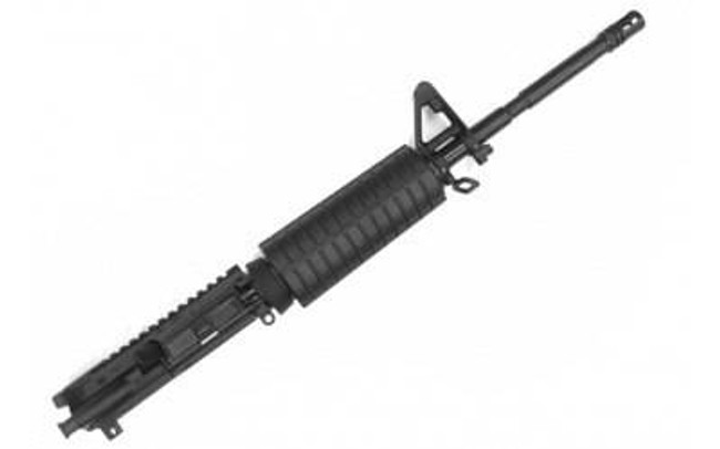 CMMG Upper 223 Rem 556NATO 16 Black 19 WASP Flat Top AR Rifles A2 Front 55BE1F0 55BE1F0