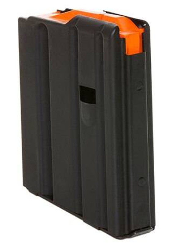 C Products Defense 10 Round .223 Stainless Steel Magazine with Orange Follower and Stainless Steel 1023041178CPD