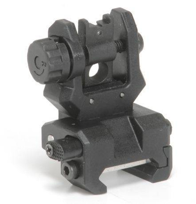 Command Arms Accessories Low Profile Flip Up Rear Sight FRS-CA 814716011386