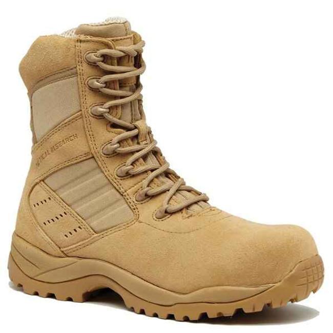 Tactical Research Mens Coyote Guardian Composite Toe Tactical Boot TR336