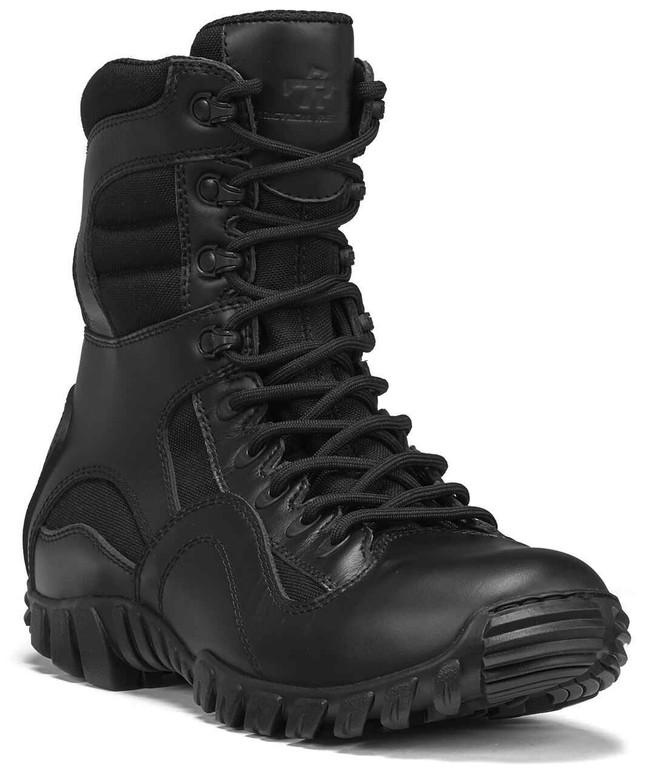 Tactical Research Mens Black Khyber Lightweight Hot Weather Tactical Boot TR960
