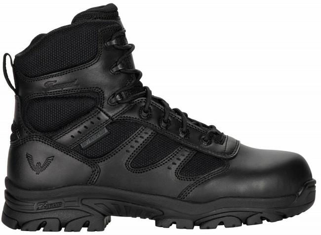 "Thorogood Men's Deuce 6"" Waterproof Side Zip Composite Safety Toe 804-6190 - Outside"