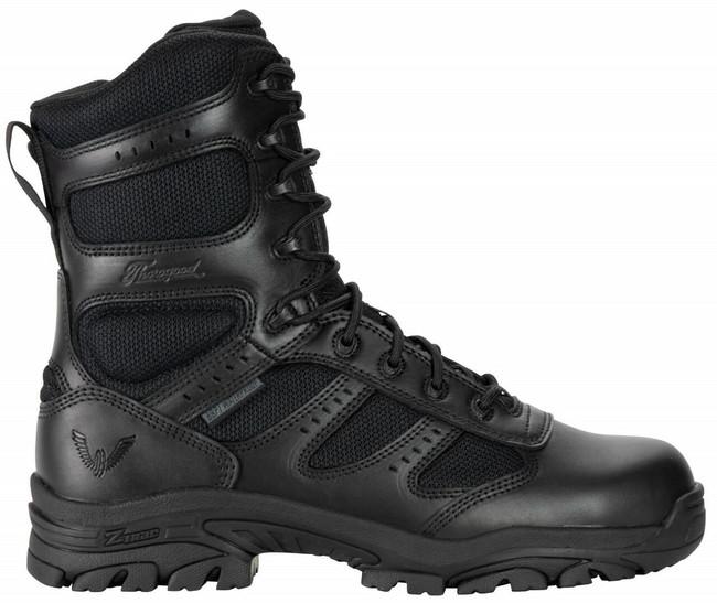 "Thorogood Men's Deuce 8"" Waterproof Side Zip Composite Safety Toe 804-6191 - outside"
