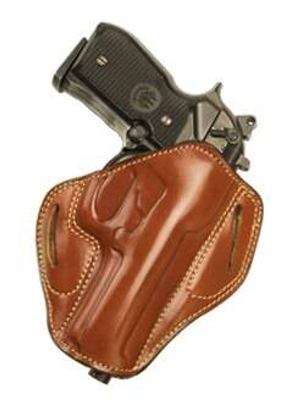 Cebeci Arms Combat Grip Leather Pancake Holster 20825