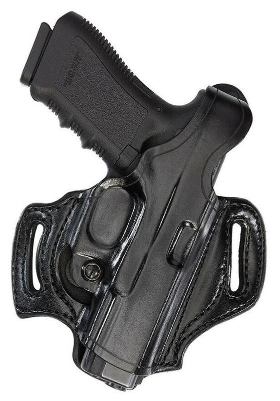 Aker FlatSider XR12 Holster black plain glock