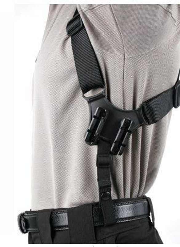 Blackhawk Vertical Shoulder Holster - Scoped 40SV