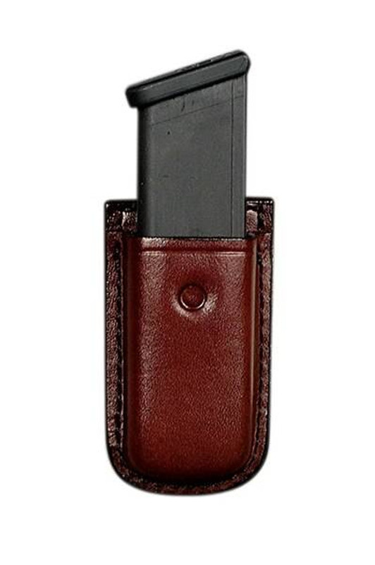 Don Hume Leathergoods Clip On Mag Pouch with Spring Clip D417