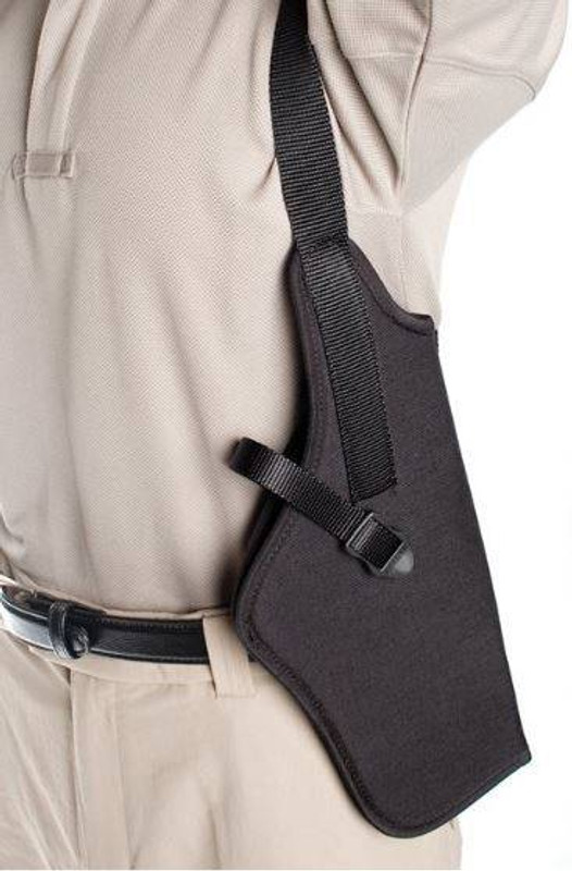 Blackhawk Vertical Shoulder Holster - Scoped - 40SV-40SV13BK-L 40SV-40SV13BK-L 648018100512