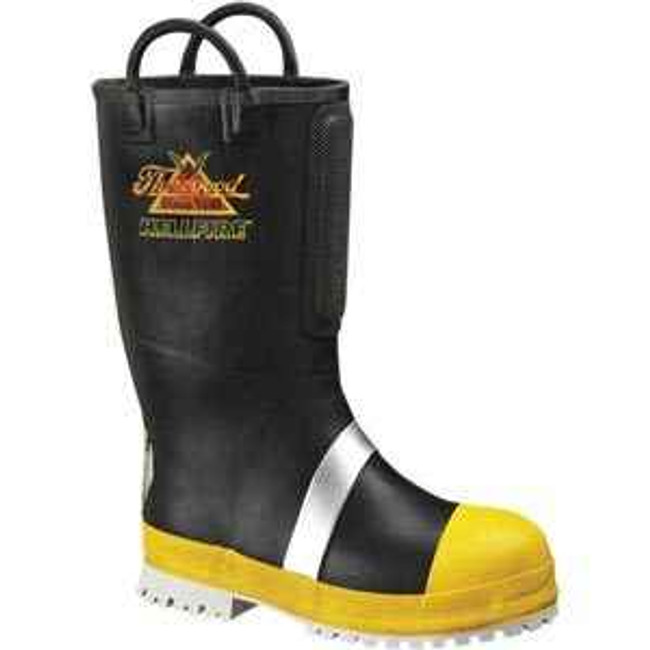 Thorogood Rubber Insulated Felt Fire Boot with Lug Sole 807-6003