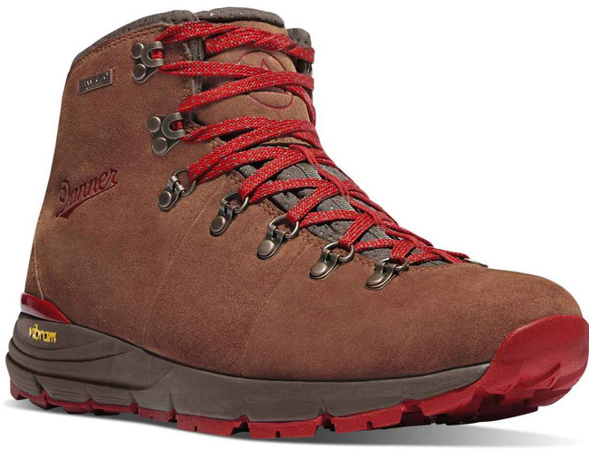 Danner Womens Mountain 600 Red 4.5 Boot 62245 62245