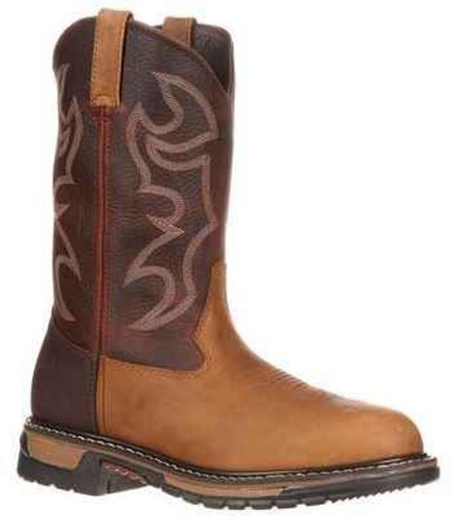 Rocky Branson Roper Round Toe Western Boots 2732 2732