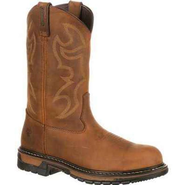 Rocky Branson Waterproof Steel Toe Western Boots 2809 2809