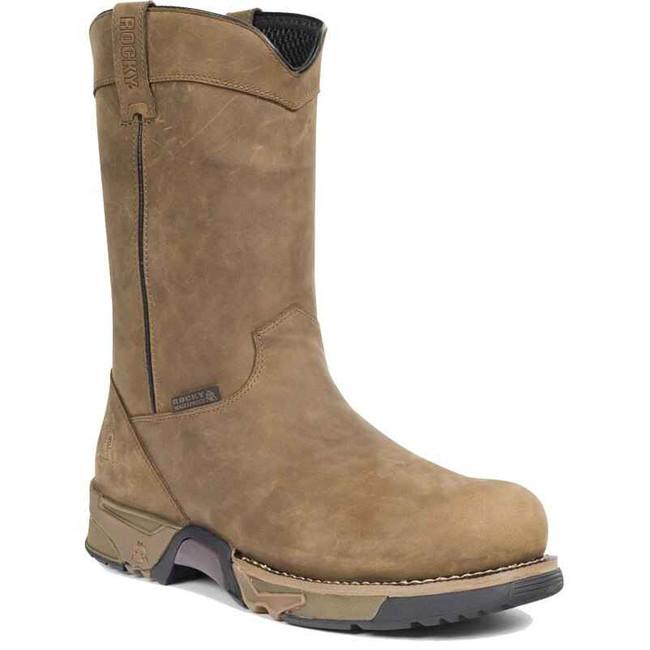 Rocky Steel Toe Waterproof Wellington Work Boot 6639 6639