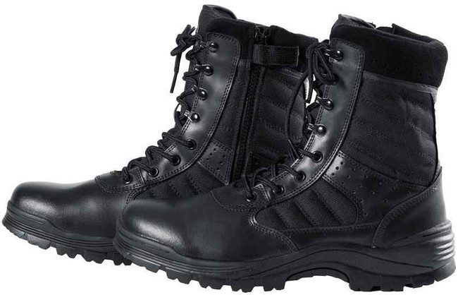 Tact Squad 8 Sentry Side Zip Boots S310 S310