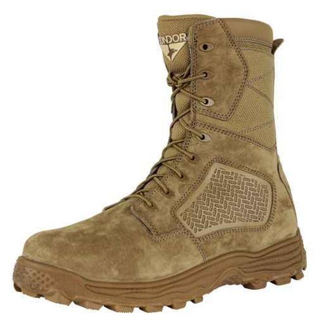 Condor 9 Murphy Side Zip Tactical Boot - Coyote Brown 235005-2CB