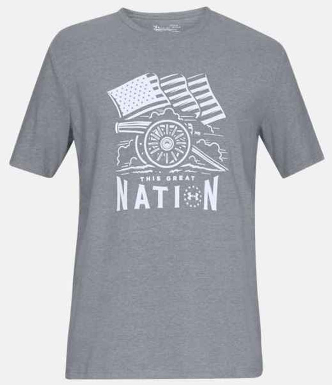 Under Armour Freedom Cannon T-Shirt 1316778