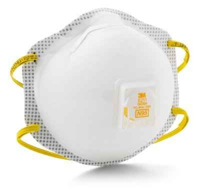 3M 8211 N95 Cool Flow Particulate Respirator - 10 Pack 8211 051131527503