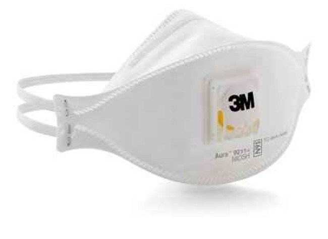 3M 9211 Aura N95 Cool Flow Particulate Respirator - 10 Pack 9211-3M 051131371934