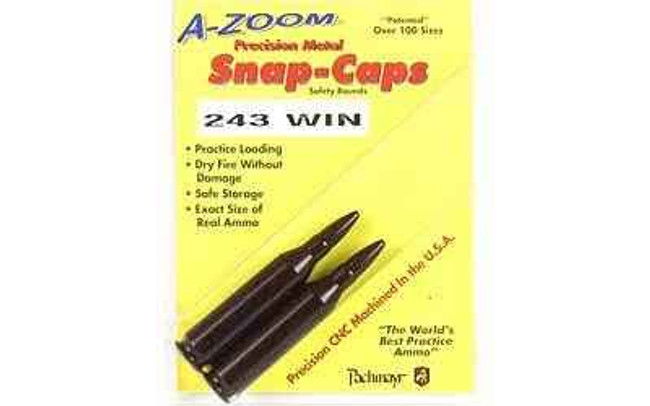 A-Zoom Snap Caps 243 Win 2/Pack 12223 12223 666692122231