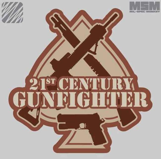 Mil-Spec Monkey 21st Century Gunfighter Patch 21STCGUNFIGHTER