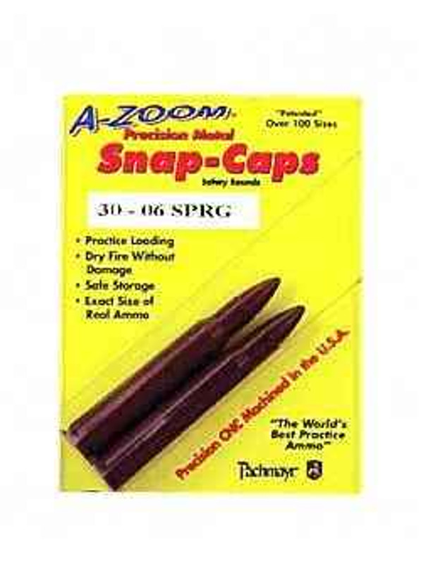 A-Zoom Snap Caps 30-06 2/Pack 12227 12227 666692122279