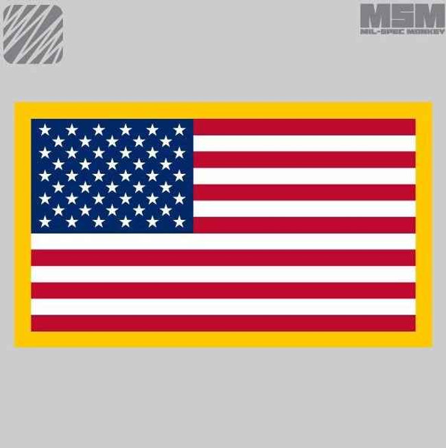 Mil-Spec Monkey American Flag Patch AMERICANFLAG
