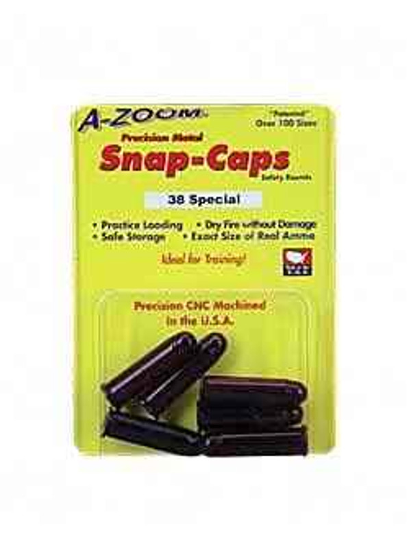 A-Zoom Snap Caps 38 Special 6/Pack 16118 16118 666692161186