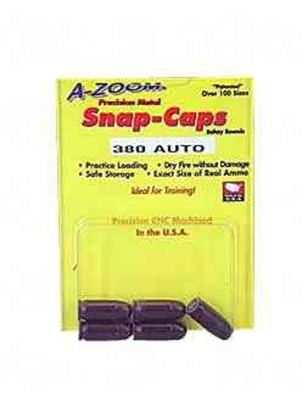 A-Zoom Snap Caps 380ACP 5/Pack 15113 15113 666692151132